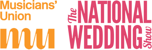 Musicians Union and The National Wedding Show Logos